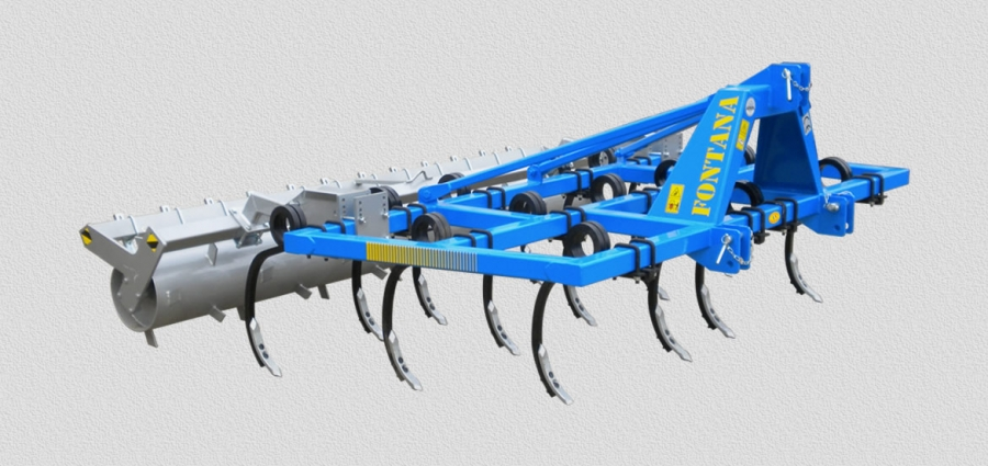 CULTIVATORS SERIES COL-M with squared springs set on 3 rows