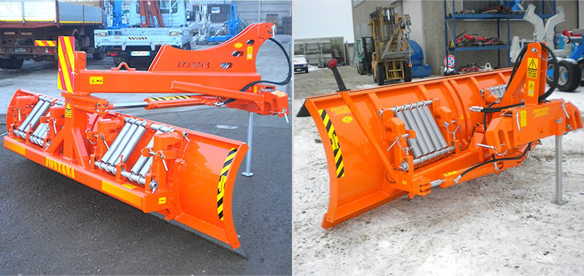 SERIES NEVE front and rear SNOW LEVELLERS